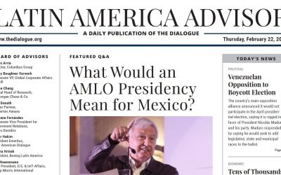 Global Nexus President Rubén Olmos in Latin America Advisor