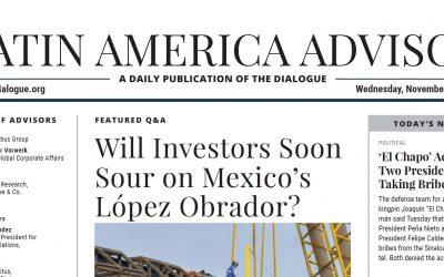 Rubén Olmos talks to Latin American Advisor