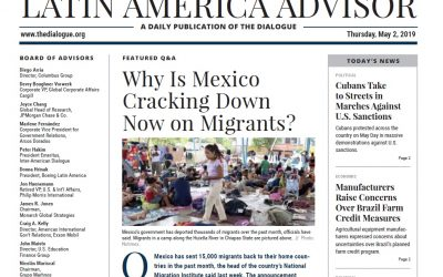 Rubén Olmos in LATAM Advisor on AMLO's immigration policy